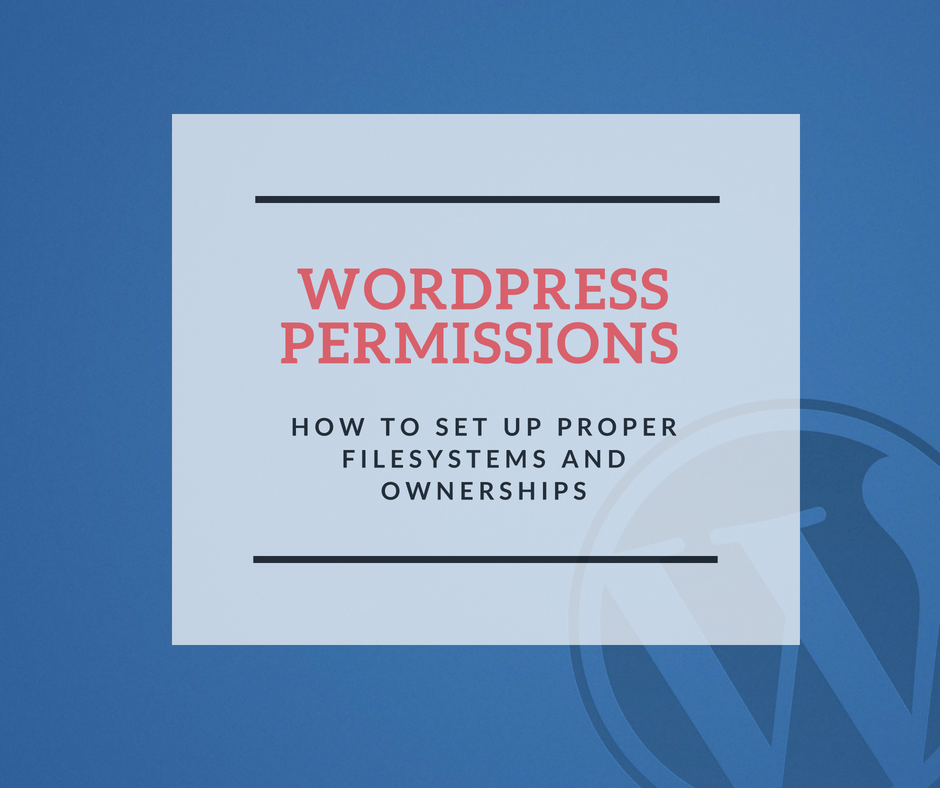 WordPress Permissions